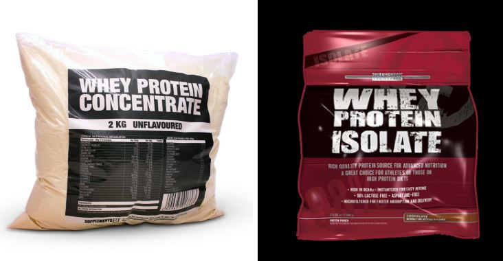 Whey Protein Concentrate VS Whey Protein Isolate ? What is the d